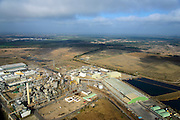 Nederland, Limburg, Budel, 24-10-2013;  Loozerheide  met de Zinkfabriek (Nyrstar Budel).<br /> Moorland with the  zinc factory (Nyrstar Budel).<br /> luchtfoto (toeslag op standaard tarieven);<br /> aerial photo (additional fee required);<br /> copyright foto/photo Siebe Swart.