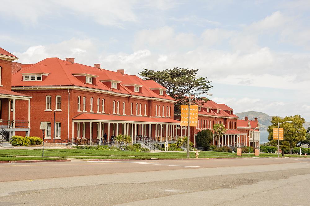 Presidio of San Francisco, <br /> Montgomery Street Barracks, California