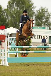 Meyer, Janne-Frederike, Dundee H<br /> Eutin - Dressur- und Springturnier<br /> Ponystilspringen<br /> © www.sportfotos-lafrentz.de/Stefan Lafrentz