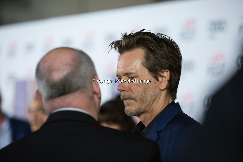 Actor Kevin Bacon attends the AFI 2016 Fest presented by AUDI closing night screening of Patriots Day at TCL Chinese Theatre, Hollywood, CA on November 17th