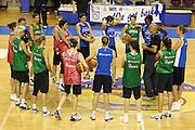 Taranto 19-05-2011<br /> Ritiro Nazionale Italiana Donne<br /> Allenamenti<br /> Nella foto Giampiero Ticchi con la squadra<br /> AUTORE : Agenzia Ciamillo-Castoria/ElioCastoria