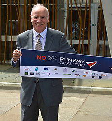 Pictured: Neil Gil Paterson, Regional MSP for the West of Scotland <br /> <br /> The No 3rd Runway Coalition was at the Scottish Parliament today to urge the SNP to change their position on supporting the Heathrow third runway proposal and to send the UK Government a message to 'think again'. Campaigners will be joined by MSPs from Scottish Greens, and SNP to highlight the environmental damage to Scotland and the rest of the UK that building a third runway would mean, as well as the fact that Scottish airports would suffer as a result.  Campaigners also believe that the SNP appear to be too trusting of UK Government promises &ndash; particularly in relation to the impact on Climate Change commitments - as revealed by Keith Brown, Cabinet Secretary for Economy, Jobs and Fair Work, in response to a question from Patrick Harvie MSP in the Scottish Parliament last Thursday.<br /> <br /> The Labour party announced their formal opposition to the proposal on Wednesday, on the basis that the UK Government&rsquo;s Airports National Policy Statement failed all four of party&rsquo;s tests on climate change, delivering extra capacity, air pollution and benefits to be felt outside of London. Additionally, the long-awaited UK Government mitigation framework for international aviation emissions won't be published for many months after MPs have been asked to support the Heathrow proposal. A recent report by the New Economics Foundation seriously calls into question the economic case &ndash; using the Department for Transport&rsquo;s own measures; and this is before taking into account the economic impact of Brexit <br /> <br /> <br /> <br /> Ger Harley | EEm 21 June 2018