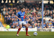 Portsmouth midfielder Michael Doyle during the Sky Bet League 2 match between Portsmouth and Newport County at Fratton Park, Portsmouth, England on 12 March 2016. Photo by Adam Rivers.