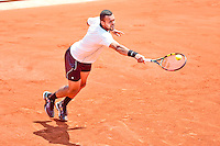 Jo Wilfried TSONGA - 05.06.2015 - Jour 13 - Roland Garros 2015<br />Photo : Dave Winter / Icon Sport