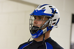 26 May 2007: Duke Blue Devils midfielder Bo Carrington (31) in the locker room before the NCAA semifinals to take on the Cornell Big Red at M&T Bank Stadium in Baltimore, MD.