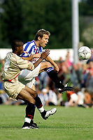 Fotball<br /> Nederland 2004/05<br /> Treningskamp<br /> Heerenveen v FC Brussel <br /> 24.juli 2004<br /> Foto: Digitalsport<br /> NORWAY ONLY<br /> Daniel Berg Hestad, Heerenveen