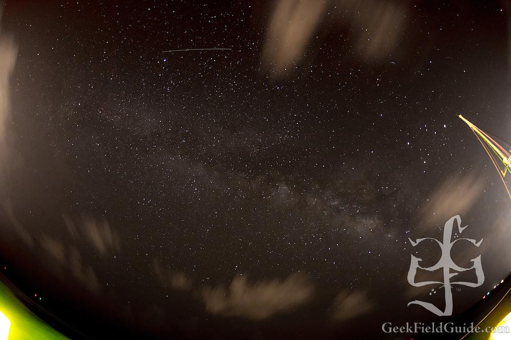 The Milky Way over Bimini