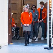 NLD/Den Haag/20180323 - Huldiging Olympische en Paralympische medaillewinnaars, Kimberley Bos