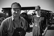 Steam enthusiasts, Shane Moorhead & Mark Gracey.