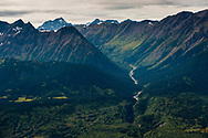 Lower Iskut.  Area downstream from Red Chris that would/will be directly effected, particularly in the event of any kind of a tailings Dam failure.  Transboundary Mines, Northwest B.C. 2017