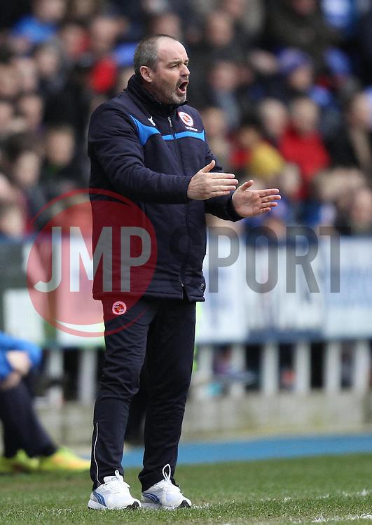 Reading Manager Steve Clarke - Photo mandatory by-line: Robbie Stephenson/JMP - Mobile: 07966 386802 - 28/02/2015 - SPORT - Football - Reading - Madejski Stadium - Reading v Nottingham Forest - Sky Bet Championship