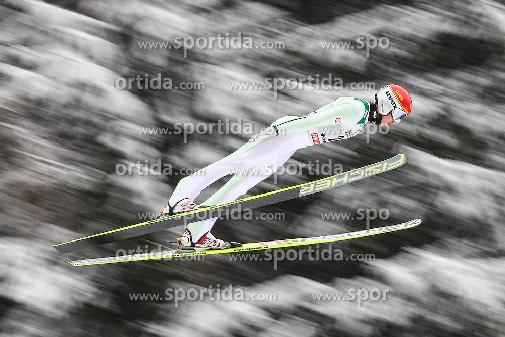 30.01.2015, Skisprungstadion, Predazzo, ITA, FIS Weltcup Nordische Kombination, Val di Fiemme, Skisprung, im Bild Mario Seidl (AUT) // during skijumping of the FIS Nordic Combined World Cup Val di Fiemme at the Skisprungstadion in Predazzo, Italy on 2015/01/30. EXPA Pictures © 2015, PhotoCredit: EXPA/ Alice Russolo