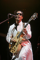 Prince made a surprise appearance at The openning night of Celebrate Brooklyn in Prospect Park on June 15, 2006..Celebration.
