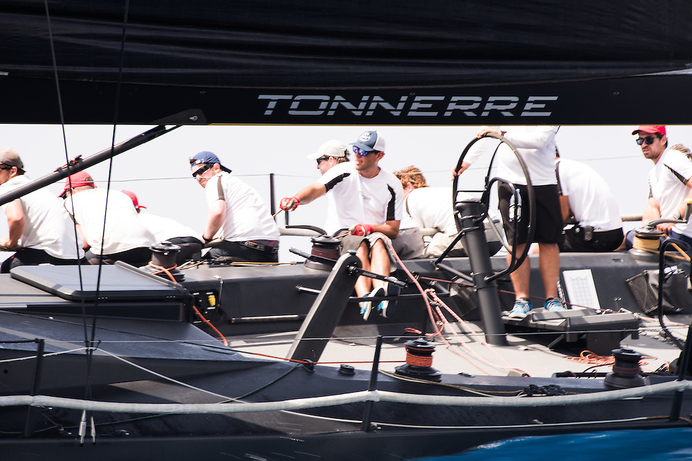 Team Tonnerre is led by veteran skipper and owner Piet Vroon. The sailing squad is made up from around 35 international sailors who race on board Tonnerre