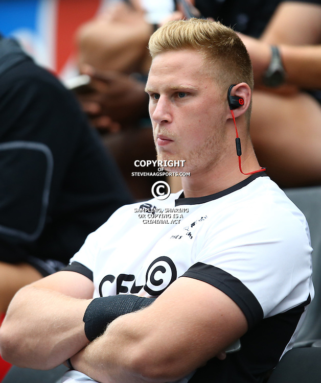 DURBAN, SOUTH AFRICA - SEPTEMBER 10: Jean-Luc du Preez during the Currie Cup U21 match between the Sharks and Free State at Growthpoint Kings Park on September 10, 2016 in Durban, South Africa. (Photo by Steve Haag/Gallo Images)