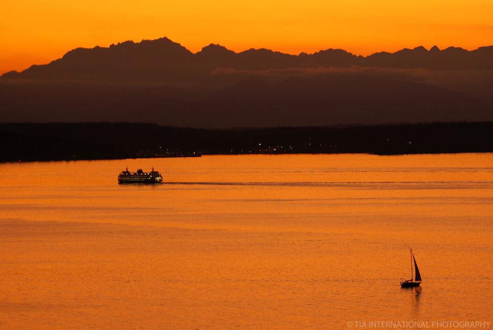 Puget Sound @ Sunset