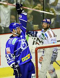24.09.2010., Croatia, Zagreb - EBEL league, hockey match KHL Medvescak - EC VS Villach. Maclean Donald. EXPA Pictures © 2010, PhotoCredit: EXPA/ nph/  Marko Prpic / nph +++++ ATTENTION - OUT OF GER +++++