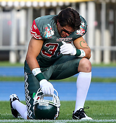 15.07.2011, Ernst Happel Stadion, Wien, AUT, American Football WM 2011, Japan (JAP) vs Mexico (MEX), im Bild Mosqueda Eric israel (Mexico, #33, CB)  // during the American Football World Championship 2011 game, Japan vs Mexico, at Ernst Happel Stadion, Wien, 2011-07-15, EXPA Pictures © 2011, PhotoCredit: EXPA/ T. Haumer