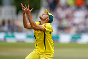 Australia ODI all rounder Marcus Stoinis drops the catch  during the third Royal London One Day International match between England and Australia at Trent Bridge, West Bridgford, United Kingdom on 19 June 2018. Picture by Simon Davies.