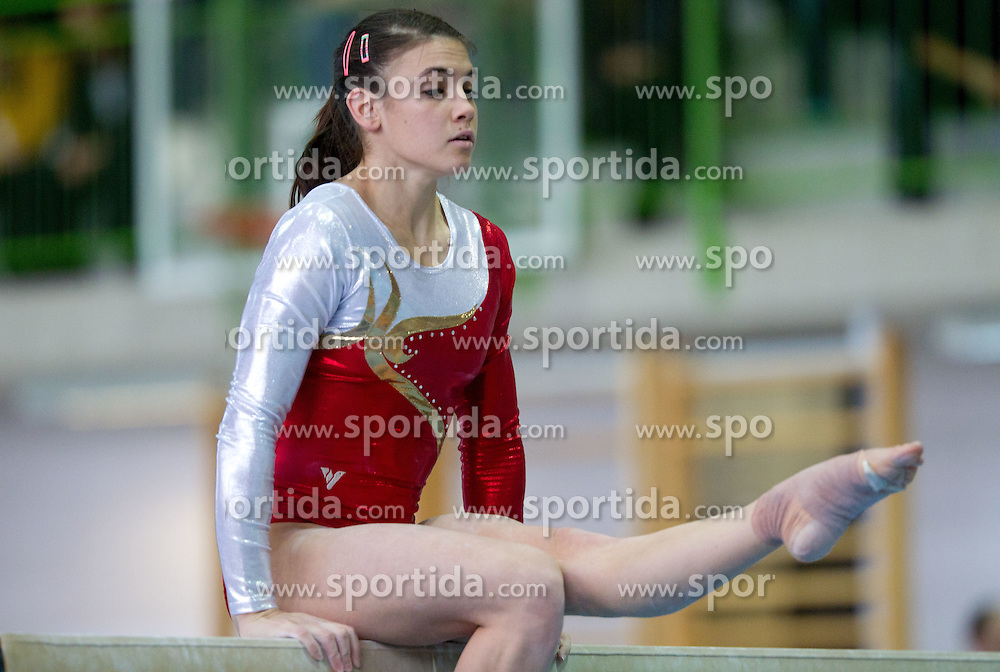 Sasa Golob during Slovenian Artistic Gymnastics National Chapionship 2011, on November 20, 2011 in GIB Arena, Ljubljana, Slovenia. (Photo By Vid Ponikvar / Sportida.com)