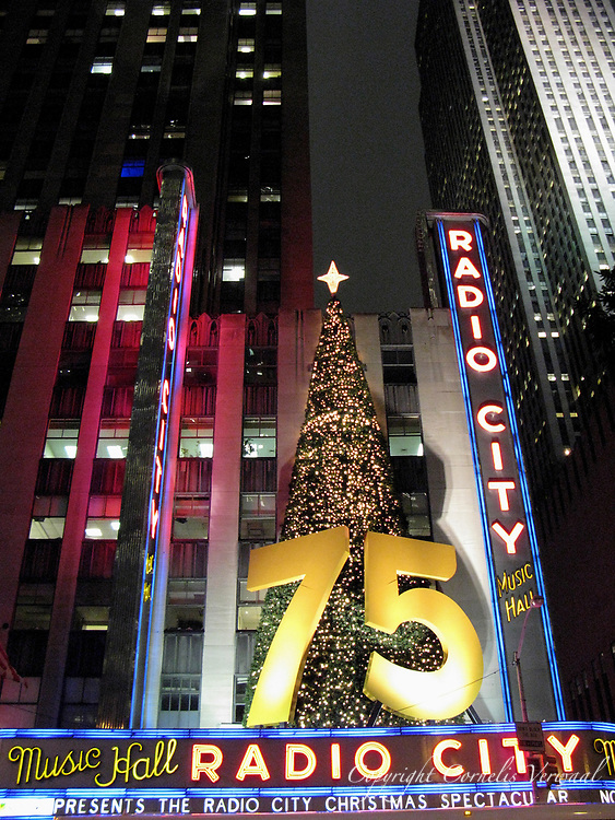 Radion City Hall at 75 years of age, Rockefeller Center