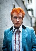 Johnny Rotten - Sex Pistols Oxford Street Glitterbest photosession - 1977