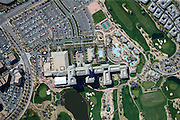 Kierland Commons is a lifestyle center on the border of Scottsdale, Arizona and Phoenix, Arizona. Though this site is actually located on city of Phoenix land, Kierland Commons uses a Scottsdale address in order to take advantage of Scottsdale's reputation as a high-end, upscale suburb.