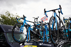 Movistar Women's Team at Ladies Tour of Norway 2018 Stage 1, a 127.7 km road race from Rakkestad to Mysen, Norway on August 17, 2018. Photo by Sean Robinson/velofocus.com