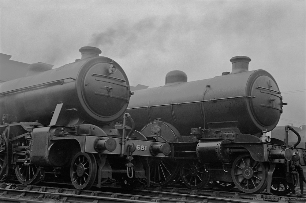 Engines and Smoke, London North Eastern Railway, England, 1936