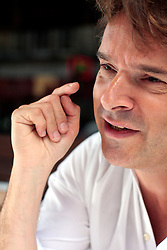 UK ENGLAND LONDON 25JUL08 - Historian and author Orlando Figes reacts during interview in central London. Figes is the author of 'Whisperers - Private Life in Stalin's Russia' which will be published in German on 8 August 2008...jre/Photo by Jiri Rezac..© Jiri Rezac 2008..Contact: +44 (0) 7050 110 417.Mobile:  +44 (0) 7801 337 683.Office:  +44 (0) 20 8968 9635..Email:   jiri@jirirezac.com.Web:    www.jirirezac.com..© All images Jiri Rezac 2008 - All rights reserved.
