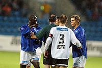 Fotball, 27. juli 2003, Tippeligaen, Vålerenga-Rosenborg 0-1,  En småsint Pa-Modou Kah, Vålerenga