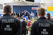 CDU summer party & counter protest