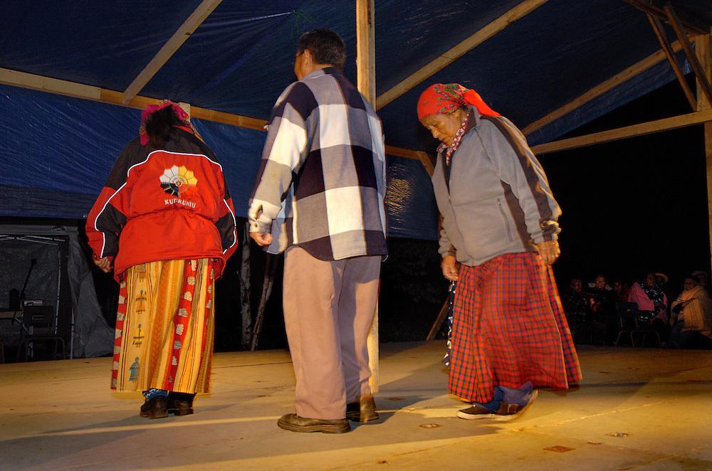 Rencontre des aînés innus, Lamarche, Saguenay/Lac-Saint-Jean, 2006.