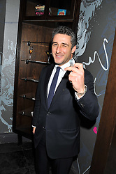 LUCA DEL BONO at a party to celebrate the launch of Pomp magazine - a magazine representing London Luxury without the Ceremony focusing on the luxury, fashion and culture of the Capital, hosted by Tom Parker Bowles and the Directors of Pomp Magazine held at The Cuckoo Club, Swallow Street, London on 17th November 2011.