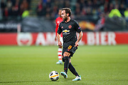 Manchester United midfielder Juan Mata (8) on the ball during the Europa League match between AZ Alkmaar and Manchester United at Kyocera  Stadion, The Hague, Netherlands on 3 October 2019.