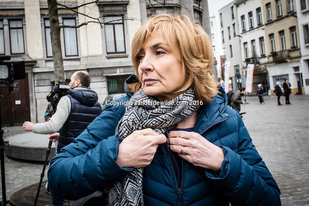 20160319 story on the streets and people of Molenbeek, after Salam Abdeslam was arrested a day before. The Mayor of Molenbeek
