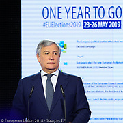 One year Ahead of the 2019 European elections