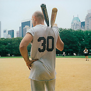 Baseball player with number 30 on his shirt, USA, 1990's