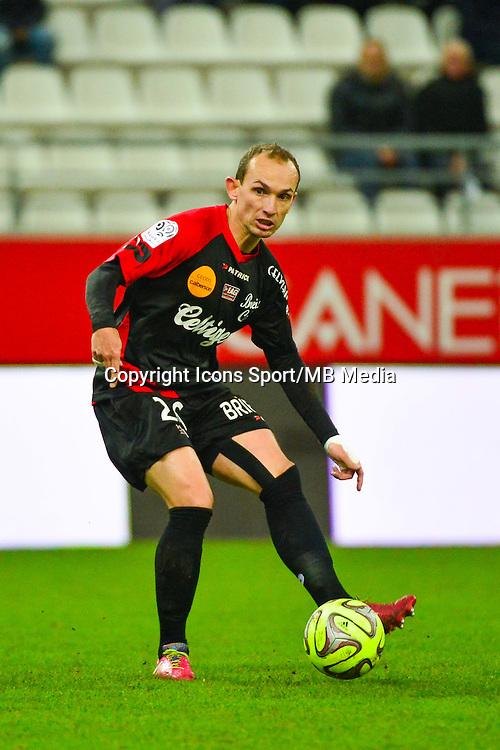 Thibault GIRESSE - 07.12.2014 - Reims / Guingamp - 17eme journee de Ligue 1 -<br /> Photo : Dave Winter / Icon Sport