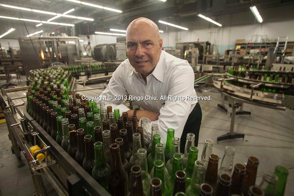 Steve Calhoun, owner and CEO of Filtec.<br /> (Photo by Ringo Chiu/PHOTOFORMULA.com)
