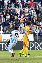 """Foto Filippo Rubin<br /> 26/03/2017 Ferrara (Italia)<br /> Sport Calcio<br /> Spal vs Frosinone - Campionato di calcio Serie B ConTe.it 2016/2017 - Stadio """"Paolo Mazza""""<br /> Nella foto: BARDI<br /> <br /> Photo Filippo Rubin<br /> March 26, 2017 Ferrara (Italy)<br /> Sport Soccer<br /> Spal vs Frosinone - Italian Football Championship League B ConTe.it 2016/2017 - """"Paolo Mazza"""" Stadium <br /> In the pic: BARDI"""