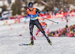 28.02.2019, Seefeld, AUT, FIS Weltmeisterschaften Ski Nordisch, Seefeld 2019, Nordische Kombination, Langlauf, im Bild Go Yamamoto (JPN) // Go Yamamoto of Japan during the Cross Country Competition of Nordic Combined for the FIS Nordic Ski World Championships 2019. Seefeld, Austria on 2019/02/28. EXPA Pictures © 2019, PhotoCredit: EXPA/ Stefan Adelsberger