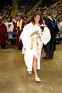 Grads head out following the 142nd annual Lebanon High School commencement at the Nutter Center in Fairborn, Saturday, May 26, 2012.