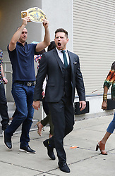 EXCLUSIVE: The Miz, The Bella Twins and many WWE Wrestlers are seen as they prepare for Wrestlemania 34 in New Orleans, Louisiana. 07 Apr 2018 Pictured: The Miz. Photo credit: MEGA TheMegaAgency.com +1 888 505 6342