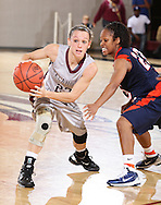 November 11, 2010: The Langston University Lady Lions play against the Oklahoma Christian University Lady Eagles at the Eagles Nest on the campus of Oklahoma Christian University.