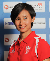 17.07.2016, Hotel Mariott, Wien, AUT, Olympia, Rio 2016, Einkleidung OeOC, im Bild Liu Jia (Tischtennis) // during the outfitting of the Austrian National Olympic Committee for Rio 2016 at the Hotel Mariott in Wien, Austria on 2016/07/17. EXPA Pictures © 2016, PhotoCredit: EXPA/ Erich Spiess