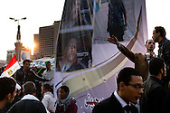 November 23, 2011 – Cairo, Egypt – Protestors in the increasingly permanent camp in Tahrir square. A truce between Egyptian riot police and protesters succeeded on Thursday in calming violence that has killed at least 39 people as thousands of Egyptians furious at the slow transfer of power by military leadership to civilian rule have led to a sixth day of violent clashes with police, The Egypt's ruling military council said there would be no delay to a parliamentary vote scheduled for november 28.