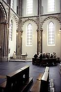 DEU, Germany, Cologne, the romanesque church St. Kunibert.....DEU, Deutschland, Koeln, die romanische Kirche St. Kunibert....... ..