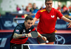 BAYLEY William John (GBR) and WOLLMERT Jochen (GER) during Team events at Day 4 of 16th Slovenia Open - Thermana Lasko 2019 Table Tennis for the Disabled, on May 11, 2019, in Dvorana Tri Lilije, Lasko, Slovenia. Photo by Vid Ponikvar / Sportida