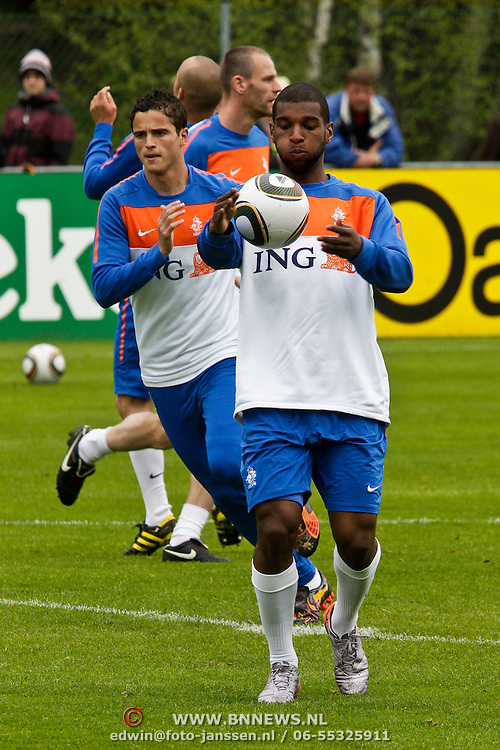 AUS/Seefeld/20100529 - Training NL Elftal WK 2010, Ryan Babel